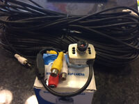 Mini Digital Pick-up Camera suitable for door entry or security 30 metres of cable included