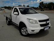 2012 Holden Colorado RG MY13 LX White 5 Speed Manual Cab Chassis Maddington Gosnells Area Preview