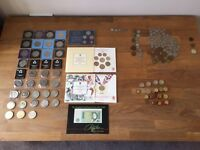 Old British And Some Euro Coins (Bargain)