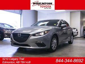 2016 Mazda Mazda3 GS Sport, Hatchback, Heated Seats, Alloy Rims,