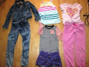 Lot of girls clothing size 7/8 - see all pictures-50 items