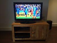 Solid Mango Wood TV/DVD Cabinet
