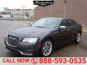 2017 Chrysler 300 C LUXURY HEMI Navigation (GPS),  Leather,  Hea