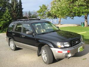 2005 Subaru Forester XS Premium w/Lthr SUV, Crossover