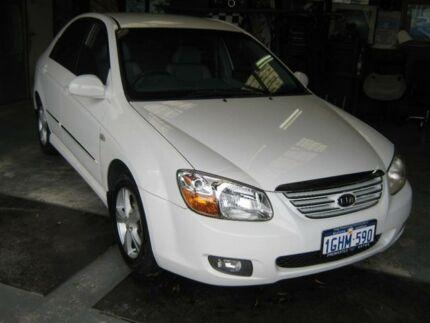 2007 Kia Cerato LD White 4 Speed Automatic Sedan Fremantle Fremantle Area Preview