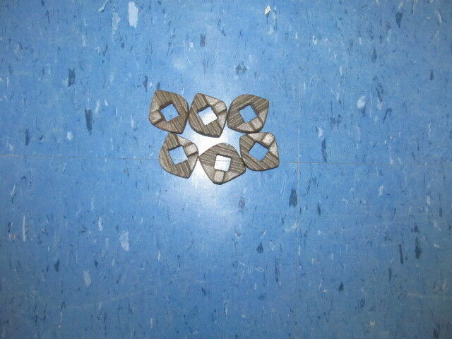 CULTIVATOR PARTS,6 ALLIGATOR WASHERS,COVINGTON DPE8, CULTIVATOR WASHERS FOR MOST