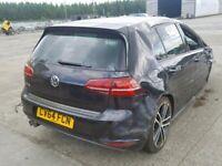 VW VOLKSWAGEN GOLF GTD MK7 BREAKING SPARES AIRBAG LEATHER SEATS ALLOY DOORS AXLE HUBS CORNERS