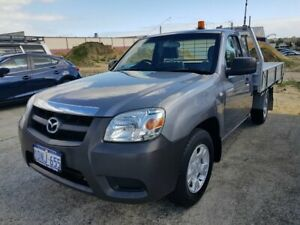 2010 Mazda BT-50 09 Upgrade Boss B2500 DX Grey 5 Speed Manual Cab Chassis Wangara Wanneroo Area Preview