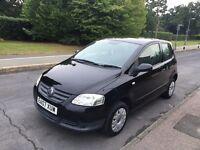 2007 Black Volkswagen Fox 1.2, 3 Door, Hatchback, Manual, Petrol, MOT, Service, 60k Miles