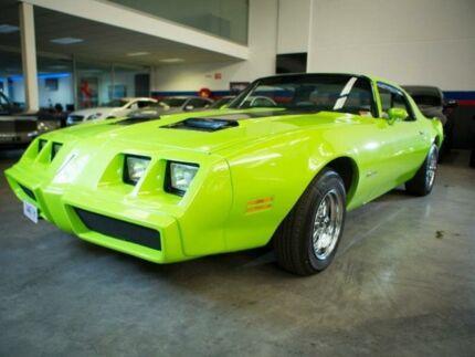 1980 Pontiac Firebird Trans AM Green Automatic Coupe