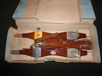 VERY OLD ICE SKATES from Sweden Like New and Still in Box