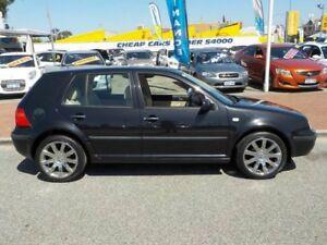 1999 Volkswagen Golf 4TH GEN GL Black 4 Speed Automatic Hatchback