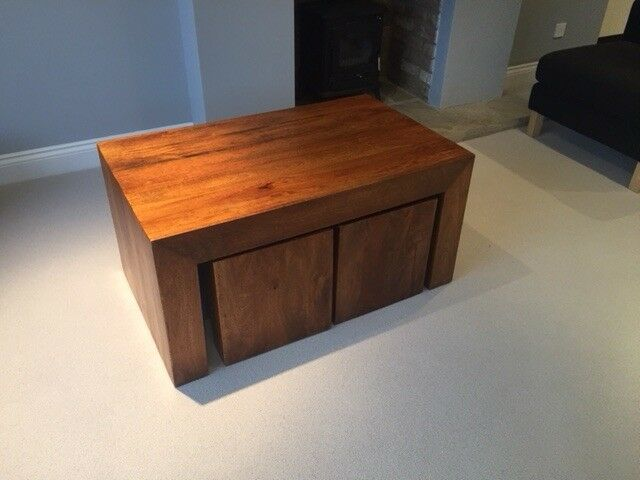 Stylish Coffee Table And Nests In Woodstock Oxfordshire Gumtree