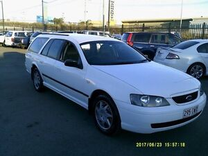 2005 Ford Falcon BA MkII XT White 4 Speed Auto Seq Sportshift Wagon Coopers Plains Brisbane South West Preview