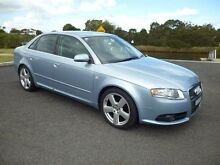2006 Audi A4 B7 2.0 TDI Blue CVT Multitronic Sedan Mordialloc Kingston Area Preview