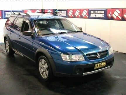 2005 Holden Adventra VZ SX6 Blue 5 Speed Automatic Wagon Cardiff Lake Macquarie Area Preview