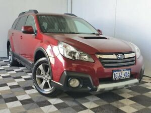 2014 Subaru Outback B5A MY14 2.0D Lineartronic AWD Premium Red 7 Speed Constant Variable Wagon Victoria Park Victoria Park Area Preview