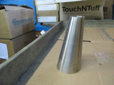 3 X 1.5 Buttweld Stainless Steel Long Eccentric Reducer Tube Fitting