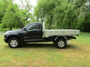 2014 Holden Colorado RG MY14 LX 4x2 Black 6 Speed Manual Cab Chassis Hahndorf Mount Barker Area Preview