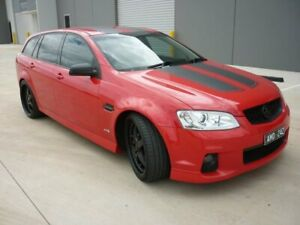 2012 Holden Commodore VE II MY12 SV6 Sportwagon Red 6 Speed Sports Automatic Wagon Grovedale Geelong City Preview