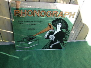 phonograph Edison Mirror