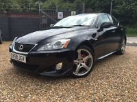 2008 Lexus IS 250 SR Auto low miles 64,000 miles Sat nav Full history POSS SWAP FOR 4x4
