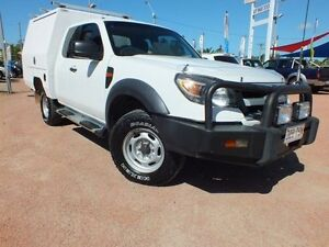 2010 Ford Ranger PK XL Super Cab White 5 Speed Manual Cab Chassis Rosslea Townsville City Preview