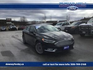 2017 Ford Fusion SE LEATHER MOONROOF NAVIGATION REVERSE SENSING