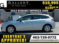 2012 Subaru Impreza 2.0i AWD $149 bi-weekly APPLY NOW DRIVE NOW