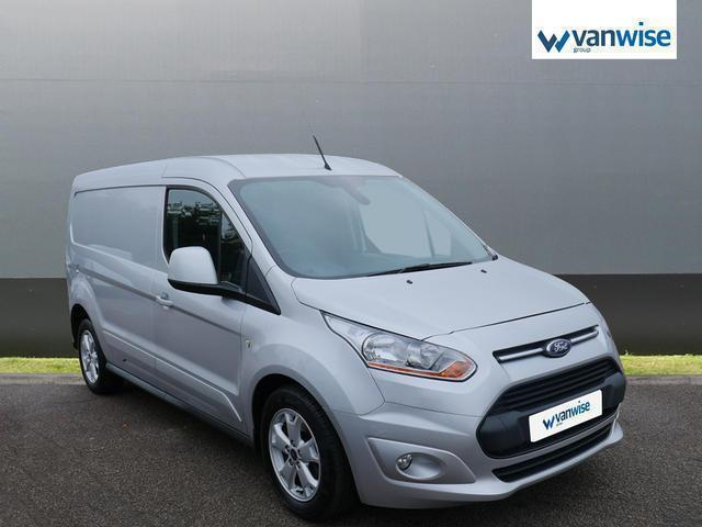 2014 Ford Transit Connect 1.6 TDCi 115ps Limited Van Diesel silver Manual