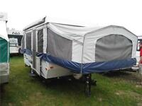 2013 Palomino Real Lite 1202 12Ft Tent Trailer with Bathroom