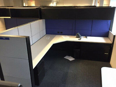Used Office Cubicles Herman Miller Ethospace 6x6 Cubicles