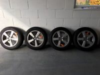 Volvo V40 winter wheels with tyres - reduced
