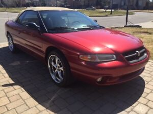 Chrysler sebring convertible 1998