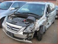 HONDA ODYSSEY 2005/2010  (FOR PARTS PARTS ONLY)