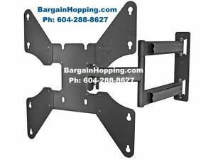 "32 - 46"" Full Motion Tilting Swiveling Tv Bracket Wall Mount"