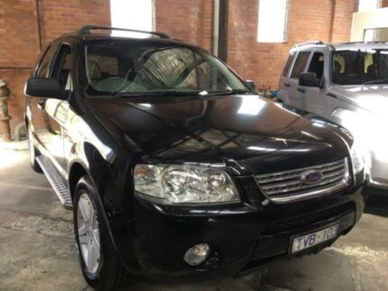 2004 Ford Territory SX Ghia (RWD) Black 4 Speed Automatic Wagon