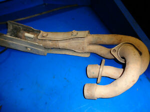 YAMAHA GRIZZLY 660 EXHAUST HEADER PIPE SOLID Prince George British Columbia image 1