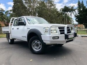 2007 Ford Ranger PJ 07 Upgrade XL (4x4) White 5 Speed Manual Dual Cab Pick-up Woodridge Logan Area Preview