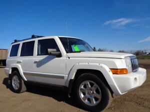 2007 JEEP COMMANDER LIMITED-DVD-HDTV-LETHER-SUNROOF-5.7L V8 HEMI