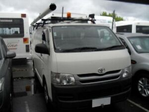 2009 Toyota Hiace TRH201R MY07 Upgrade LWB White Solid 4 Speed Automatic Van Moorabbin Kingston Area Preview