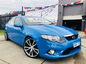 2009 Ford Falcon FG XR6 Nitrous Blue 5 Speed Auto Seq Sportshift Sedan Brooklyn Brimbank Area Preview