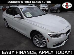 2017 BMW 3 Series 330i xDrive!! NAV!! SUNROOF!! HEATED LEATHER!!