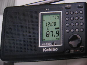 Kchibo KK-S60L PLL Digital Tuning, Shortwave Radio