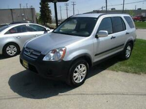 2006 HONDA CR-V 4WD, SAFETY AND WARRANTY $6,950