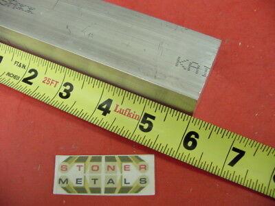 1-14x 1-12 Aluminum 6061 Flat Bar 6 Long T6511 1.25 Solid New Mill Stock