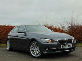 BMW 3 SERIES 2.0 320I LUXURY 4d (grey) 2012