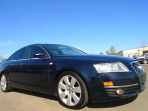2005 Audi A6 PREMIUM PKG-4.2L V8 QUTTRO-AWD-NAVI-LEATHER-SUNROOF