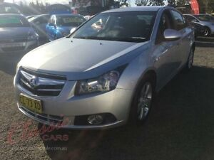 2010 Holden Cruze JG CDX Silver 6 Speed Automatic Sedan Lansvale Liverpool Area Preview