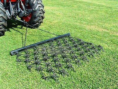 6-1/2' x 4' Long Drag Chain Harrow Landscape Lawn Arena ATV Rake